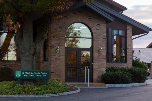 Molloy Center Entrance